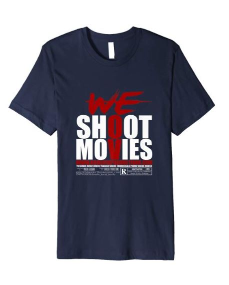 navy-amazon-we-shoot-movies-t-shirt