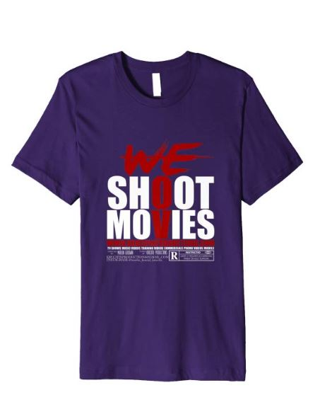purp-amazon-we-shoot-movies-t-shirt